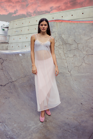 Kate Dress - Rosé - PasBlank