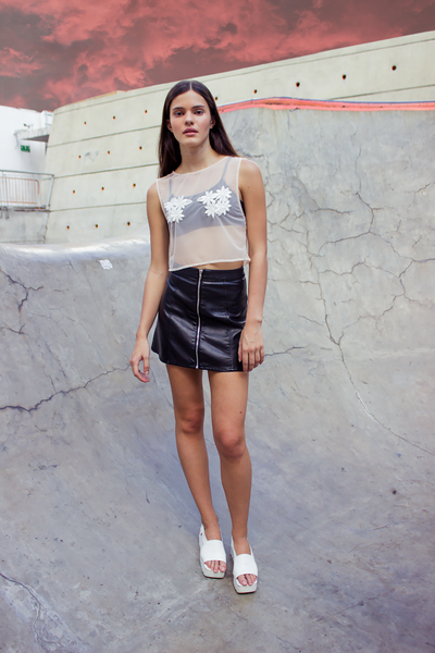 Sofy Crop top - PasBlank