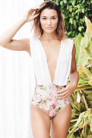 Floral Seduction One Piece