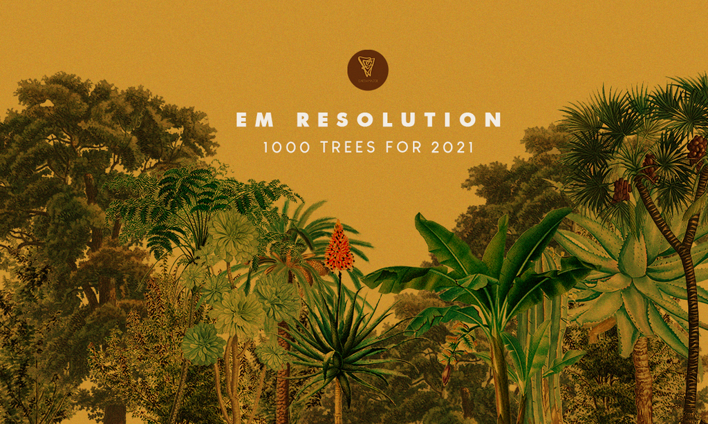 Earth Major for 1000 Trees Campaign in 2021