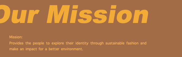 Earth Major Mission statement