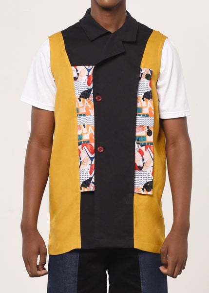 The Stand-up Comedy Vest - Unisex - Earth Major