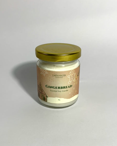 Gingerbread Scented Soy Candle