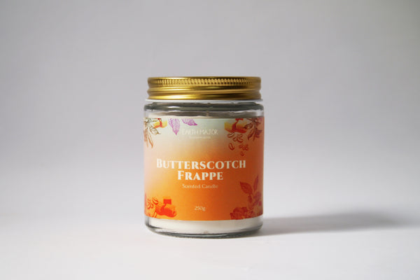 Butterscotch Frappe Scented Candle