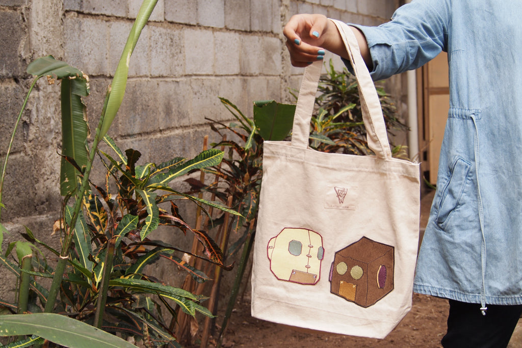 Futuronic Canvas Tote Bag - Earth Major