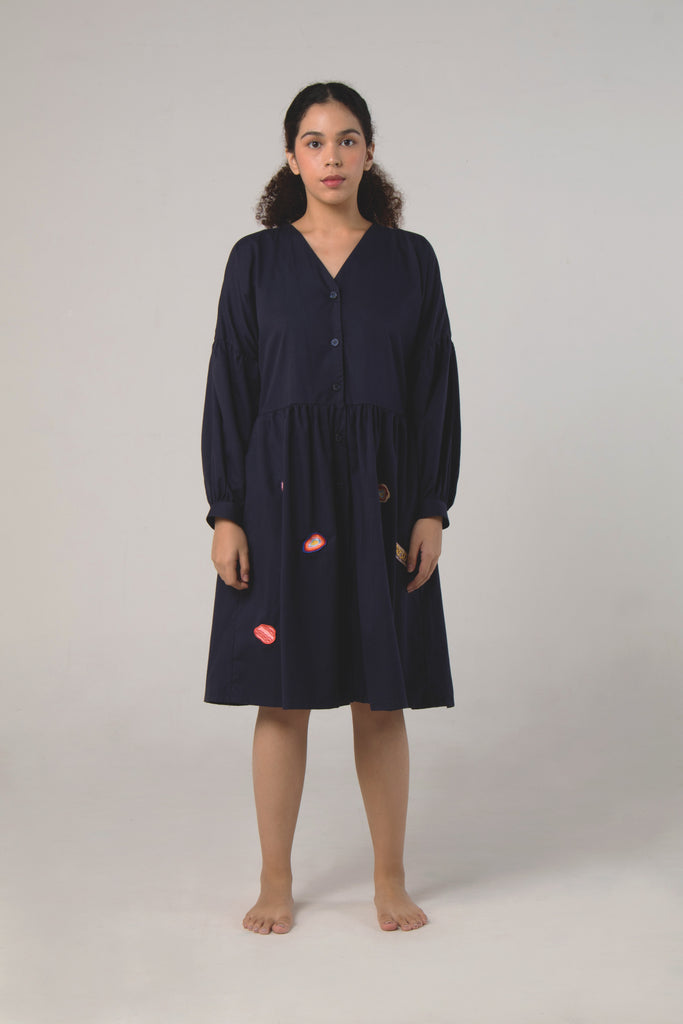 Sodalite Dress Navy
