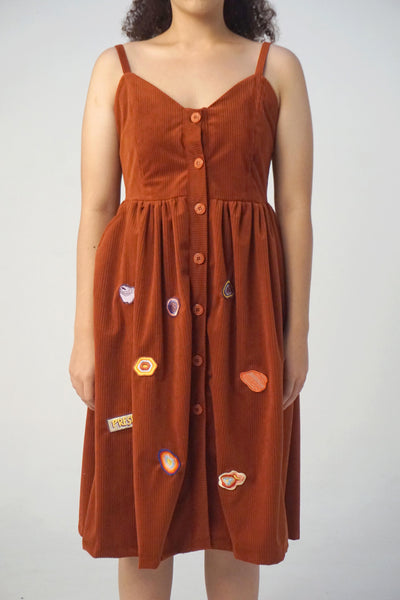 Crafty Dress Terracotta