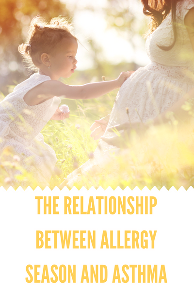 The relationship between allergy season and asthma