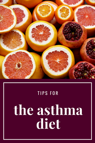 What is the anti-asthma diet?
