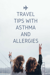 Travel tips with allergies