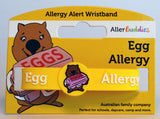 AllerBuddies egg allergy bracelet for kids