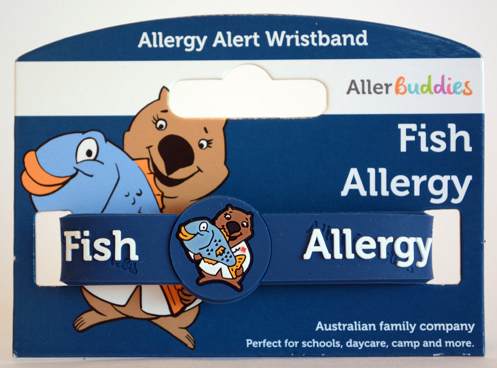 AllerBuddies Fish allergy bracelet for kids