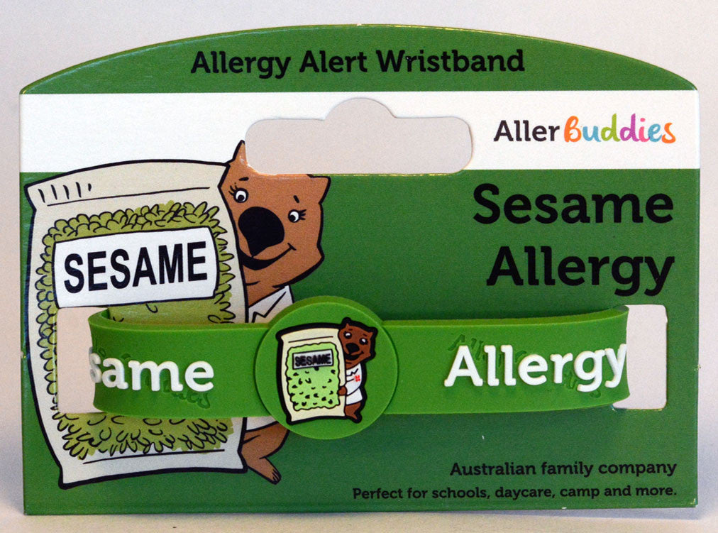 AllerBuddies Sesame bracelets for kids