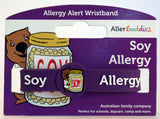 AllerBuddies Soy allergy bracelets for kids