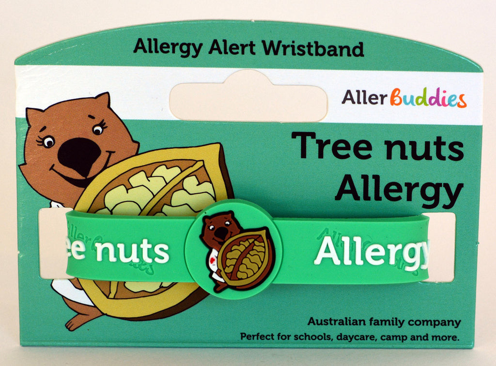 AllerBuddies Tree nuts allergy bracelet for kids