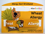AllerBuddies Wheet allergy bracelet for kids