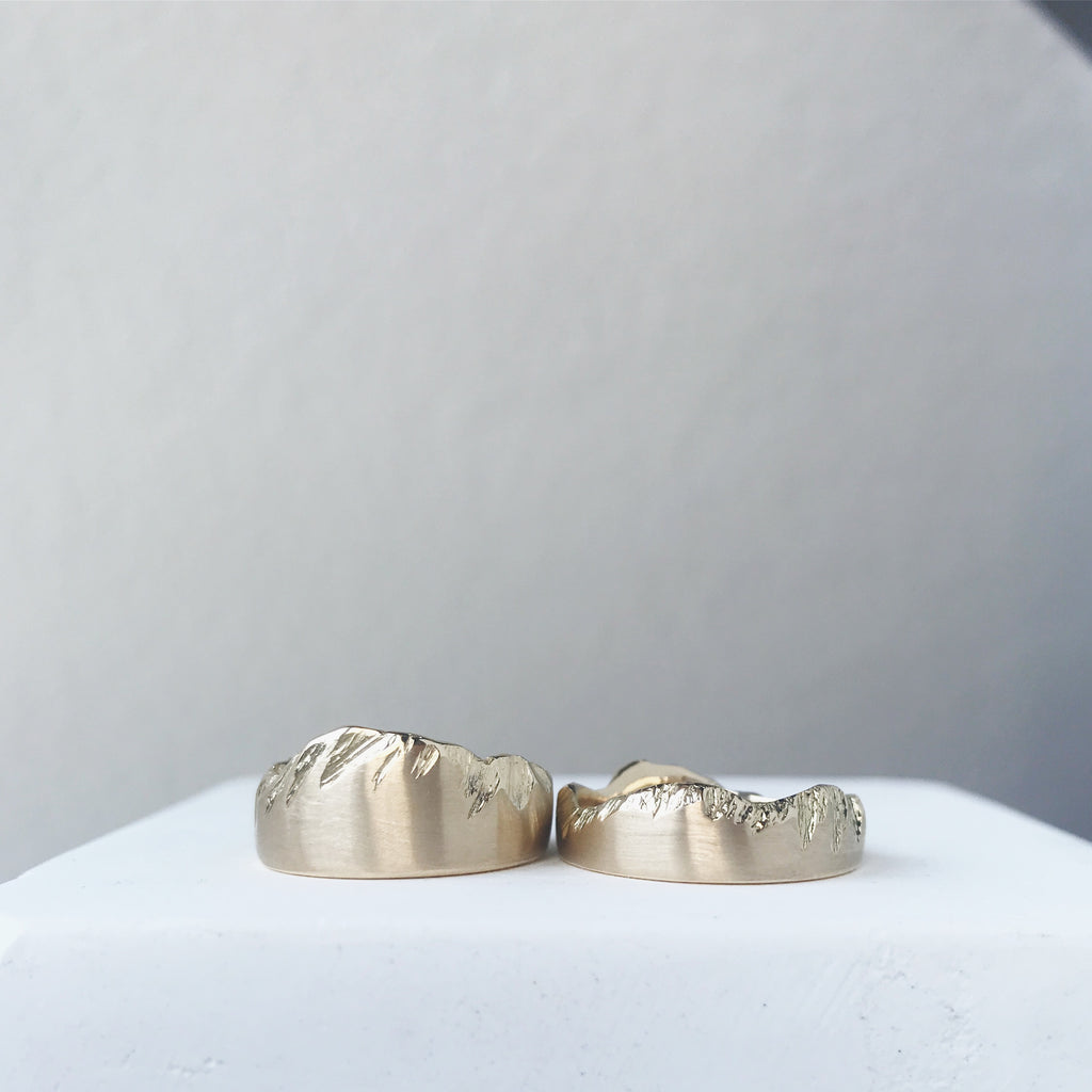 MountainRange Ring set