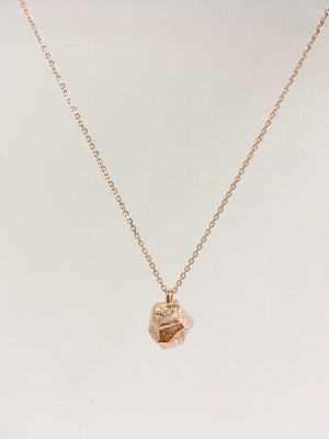 ROSE GOLD STONE - Necklace