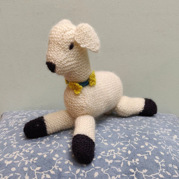 Hand knitted Polar bear, Elephant & Sprite