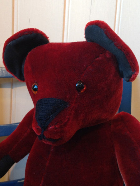 Large velvet teddy