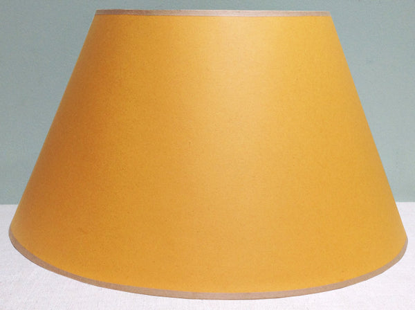 "12"", 16"", 20"" & 22"" Yellow Card lampshade"