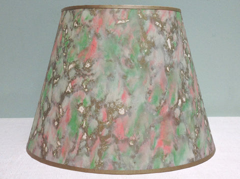 "12"" & 20"" Vintage marble paper lampshade"