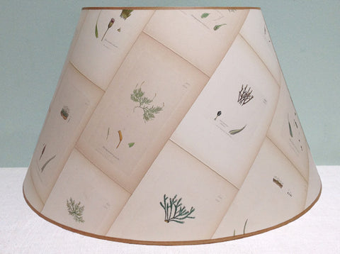 "23"" Botanical lampshade"