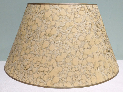 "18"" Vintage marble paper lampshade"
