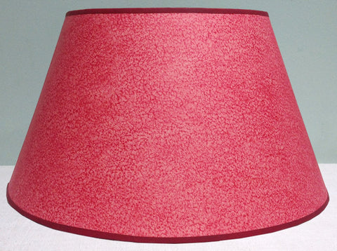 "16"" Historic pasteboard paper lampshade"
