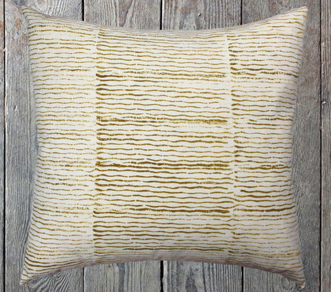 Wave hand block cushion
