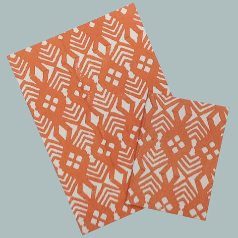 Burnt orange notebook
