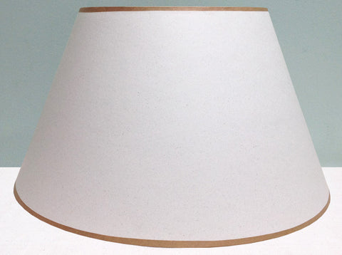 "16"" & 18"" white card lampshade"