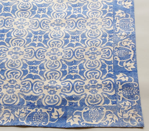 China Blue Persian Tile tablecloth