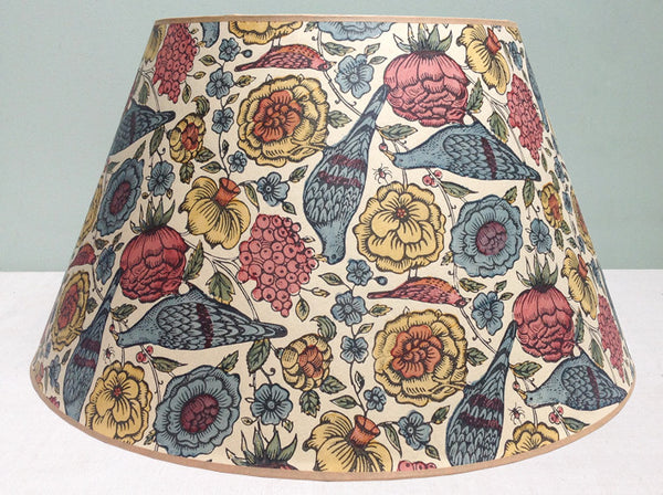 "20"" Vintage Scots paper lampshade"