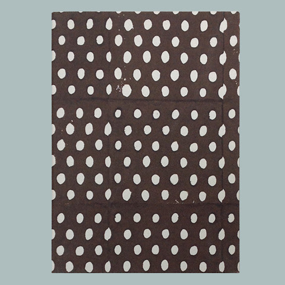 Brown inverse seed notebook