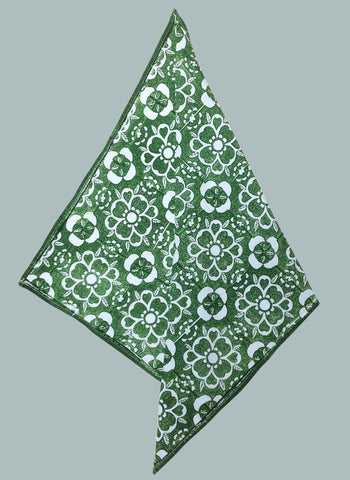 Green Marbeth handkerchief