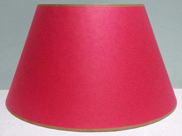 "16"" Japanese mulberry paper lampshade"