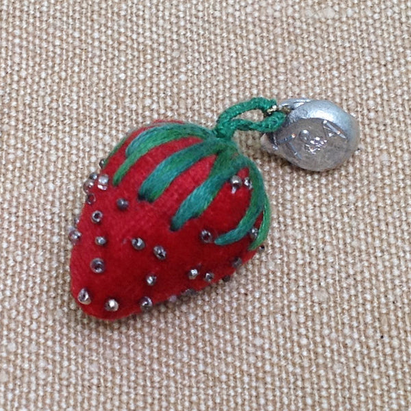 Small strawberry pin cushion