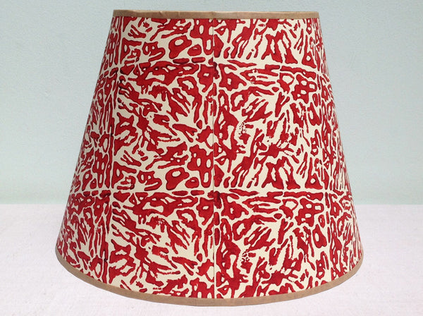 "12"" purple red mix mobility lampshade"