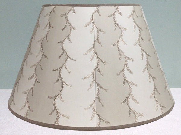 "20.5"" Hand painted card lampshades"