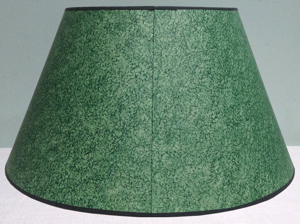 "23"" Historic paste board paper lampshade"