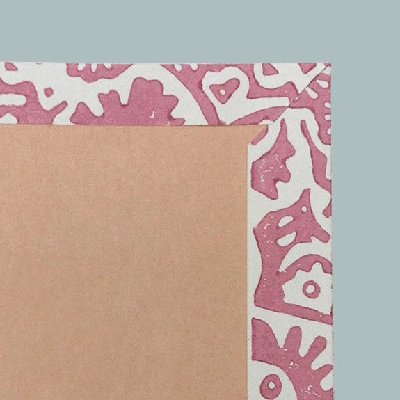 Pink Japanese Flower notebook