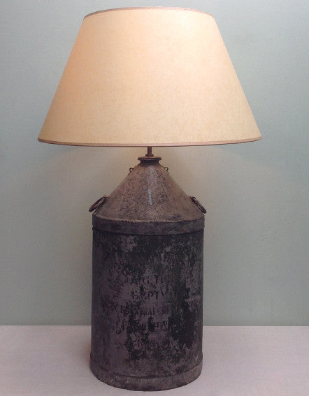 Tin can lamp