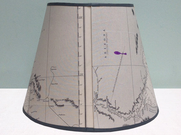 Arizona chart lampshade
