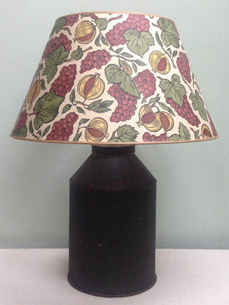 "20"" Vintage Scotts paper lampshade"