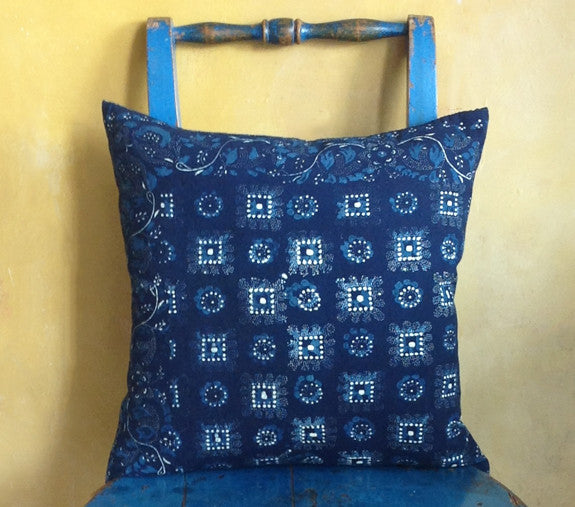 Dutch Indigo cushion