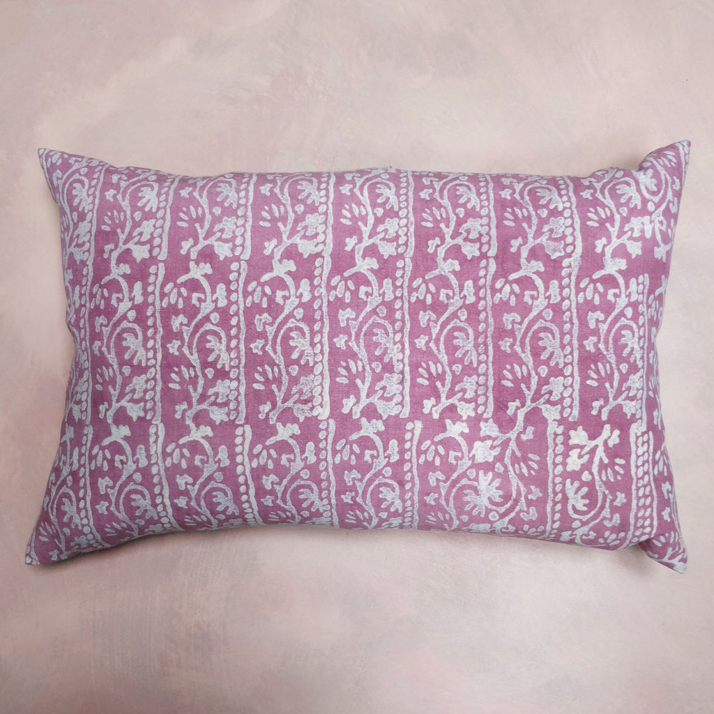 Troode's sludge, flower & leaves cushion