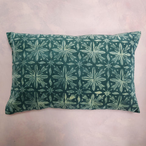 Lydia's Green Velvet Cushion