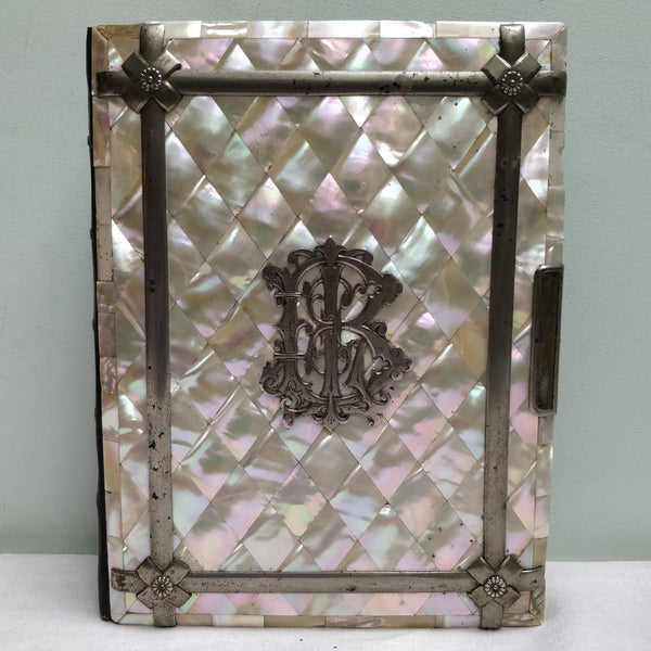 Large Mother of pearl photo album