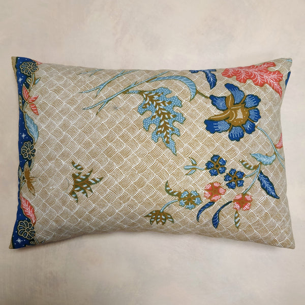 Batik cotton cushion